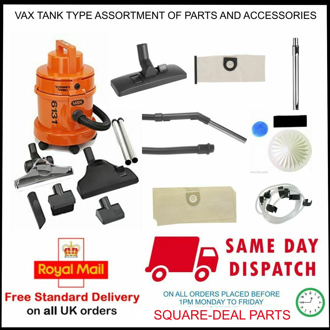 VAX SPARE PARTS ACCESSORIE